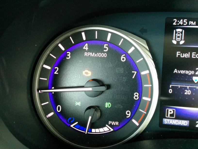 Dashboard Error Warning Lights Infiniti Q50 Forum