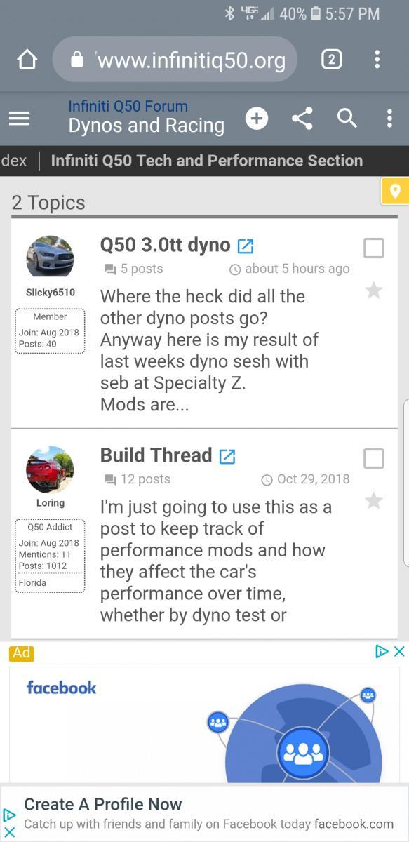 Q50 3 0tt dyno - Infiniti Q50 Forum