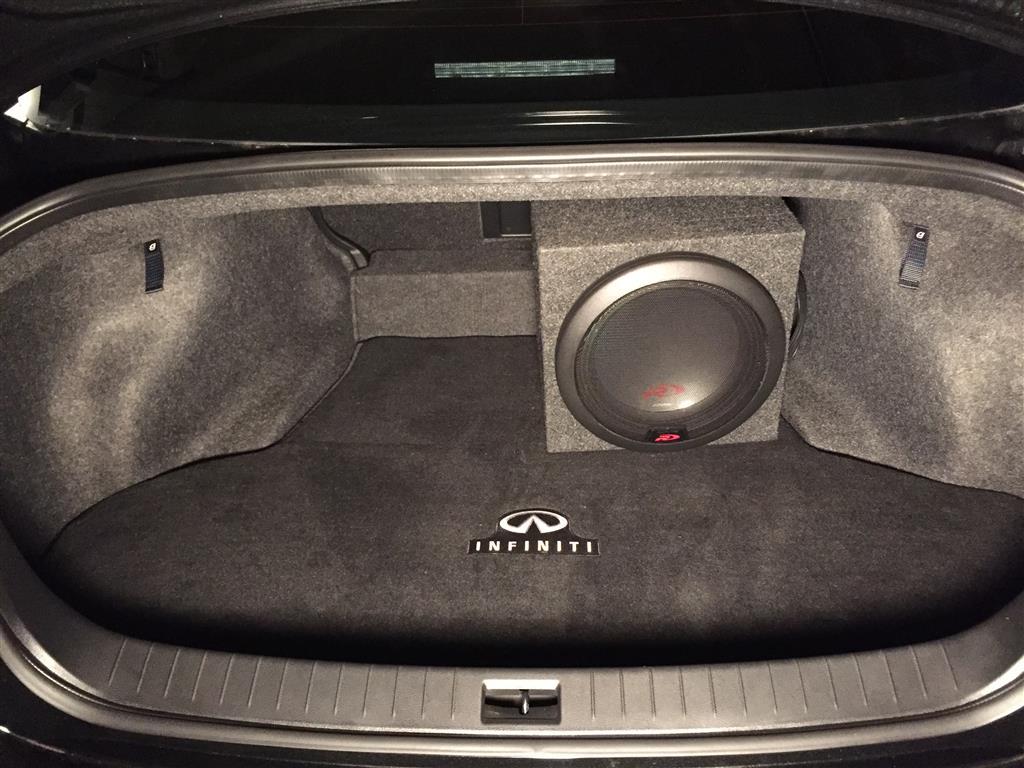 "Infiniti Q50 Forum >> Added 12"" Alpine Type-R sub & Hifonics Brutus amp to 16 ..."
